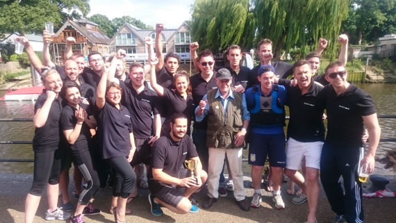 Dragon Boat Winners 2015