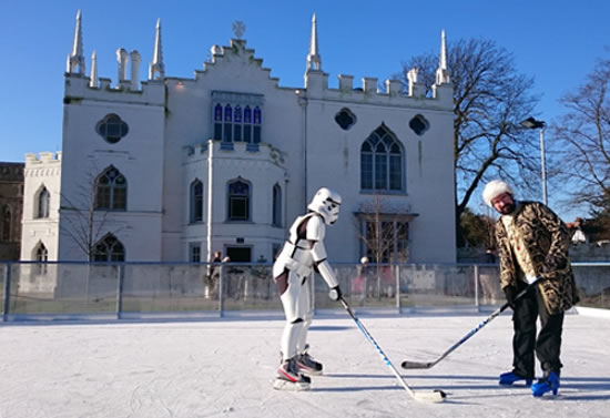 Richmond Rink at Strawberry Hill House