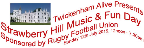 Strawberry Hill Music and Fun Day 2015